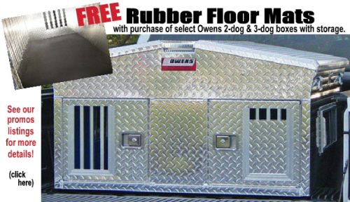 Rubber Floor Mats for dog boxes